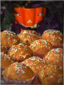 halloweenowe cupcakes