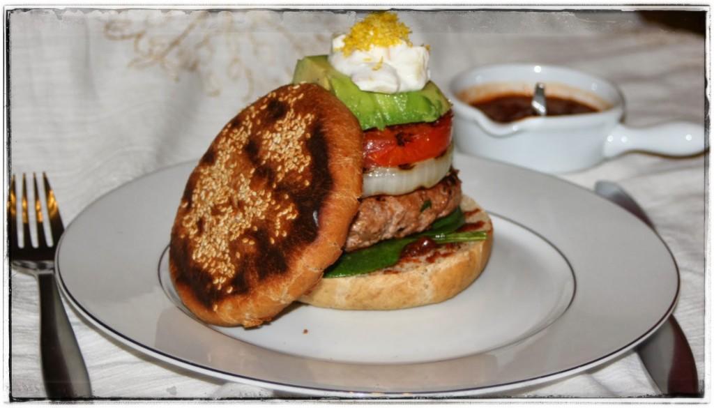 cynamonowy hamburger
