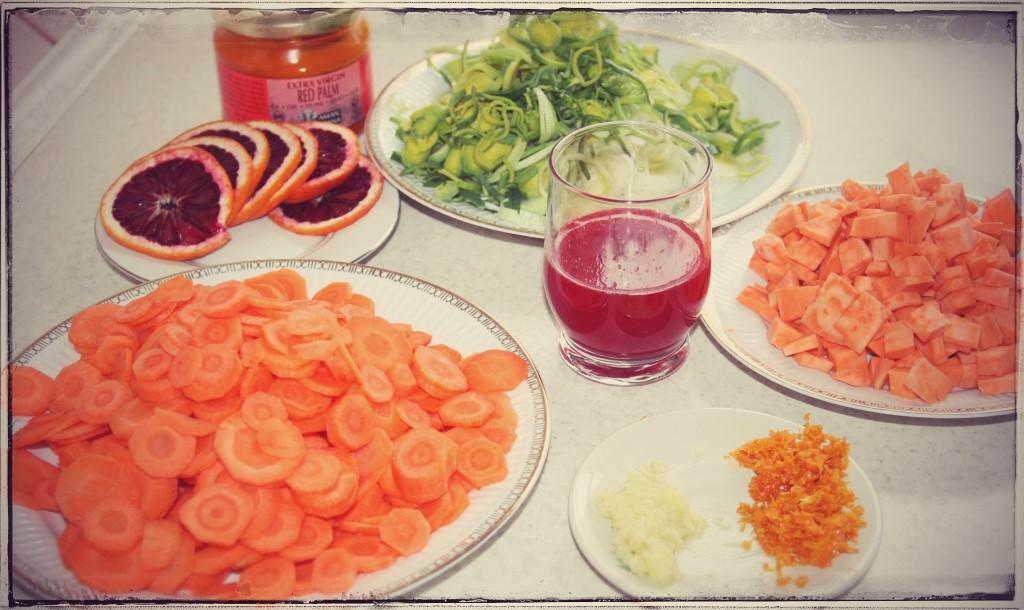 składniki karotenowej zupy