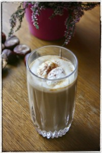 orkiszowe latte z dynią